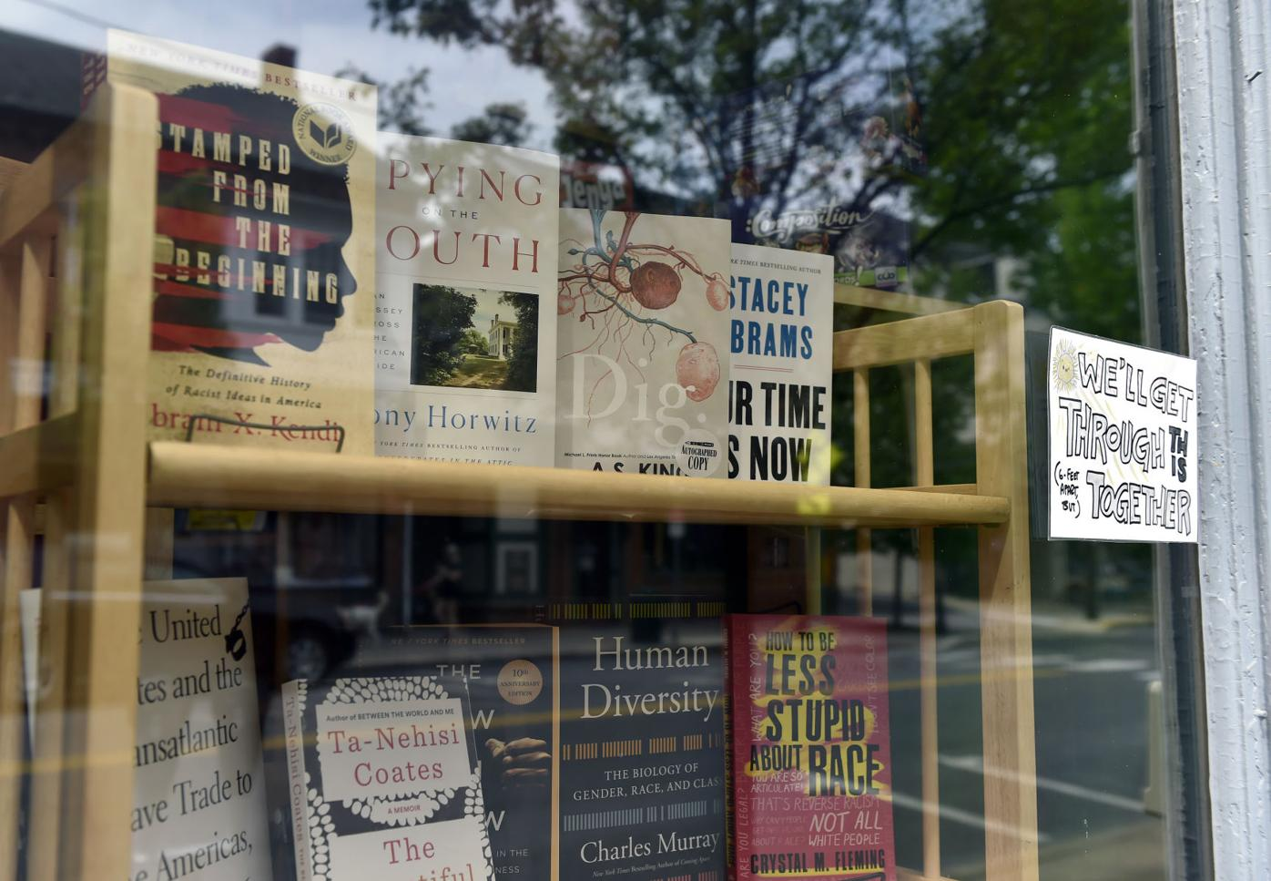 Black and anti-racist literature at Aaron's Books