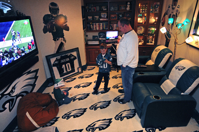 Philadelphia Eagles Man Cave Accessories Caving In Lifestyle Lancasteronline