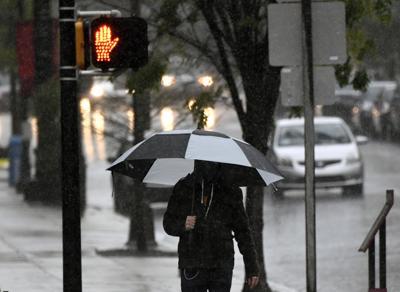 Rain in Lancaster County