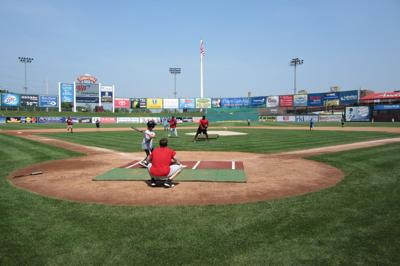 Barnstormers Promote The Benefits Of Youth Baseball On And