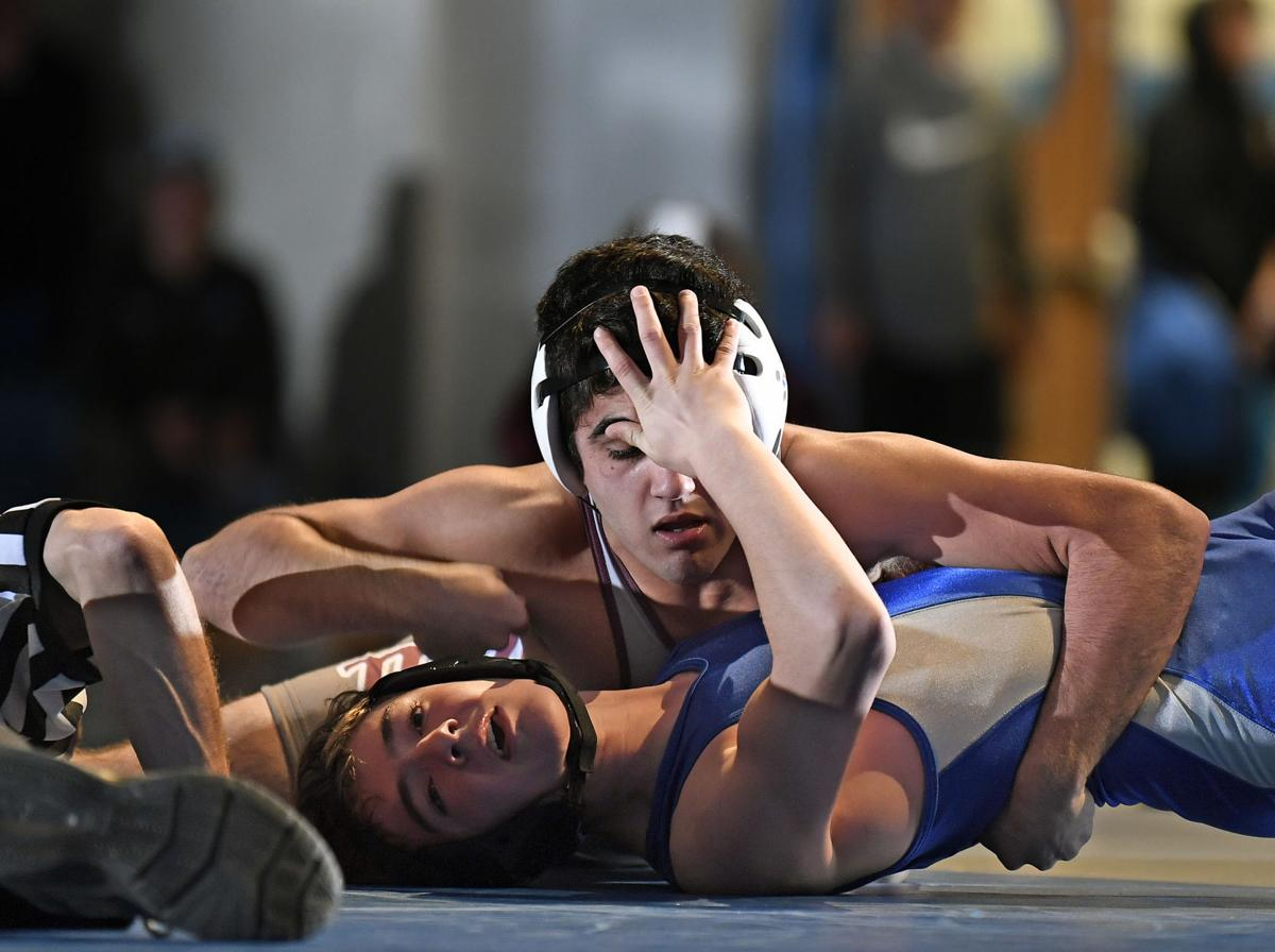 Garden Spot vs Manheim Central-Ll Wrestling