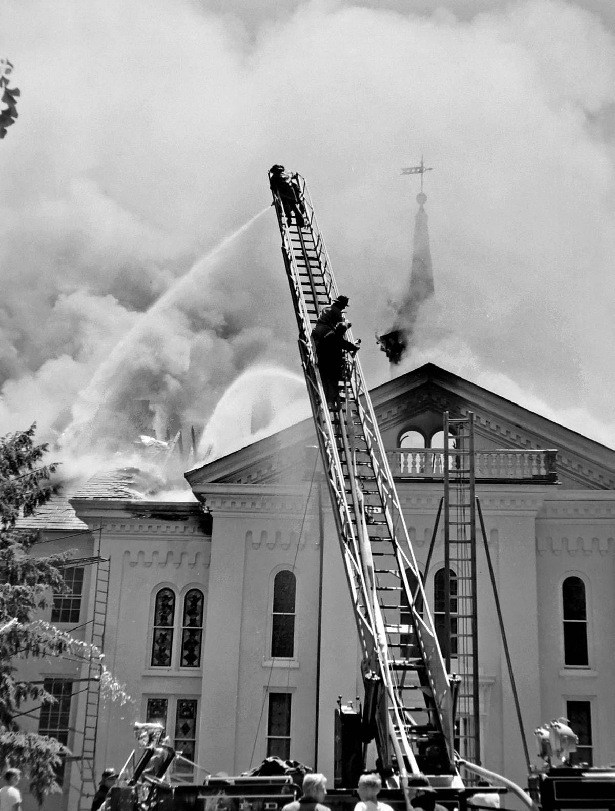 12 Fires That Ravaged Lancaster County Landmarks From The