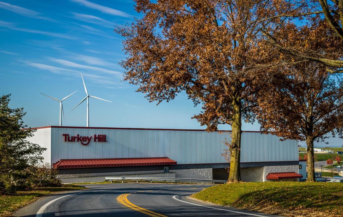 Turkey Hill Dairy HQ and wind turbines, 2019