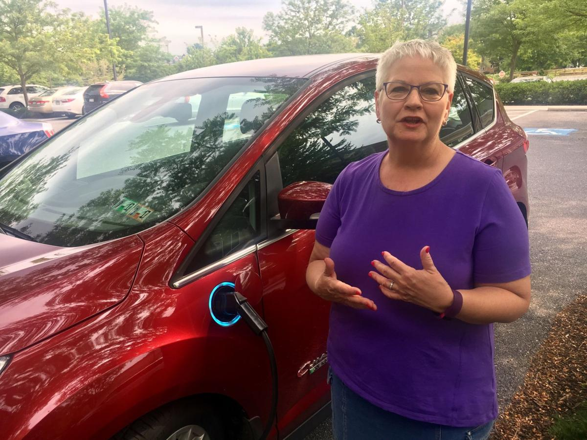 Linda Brackbill electric car