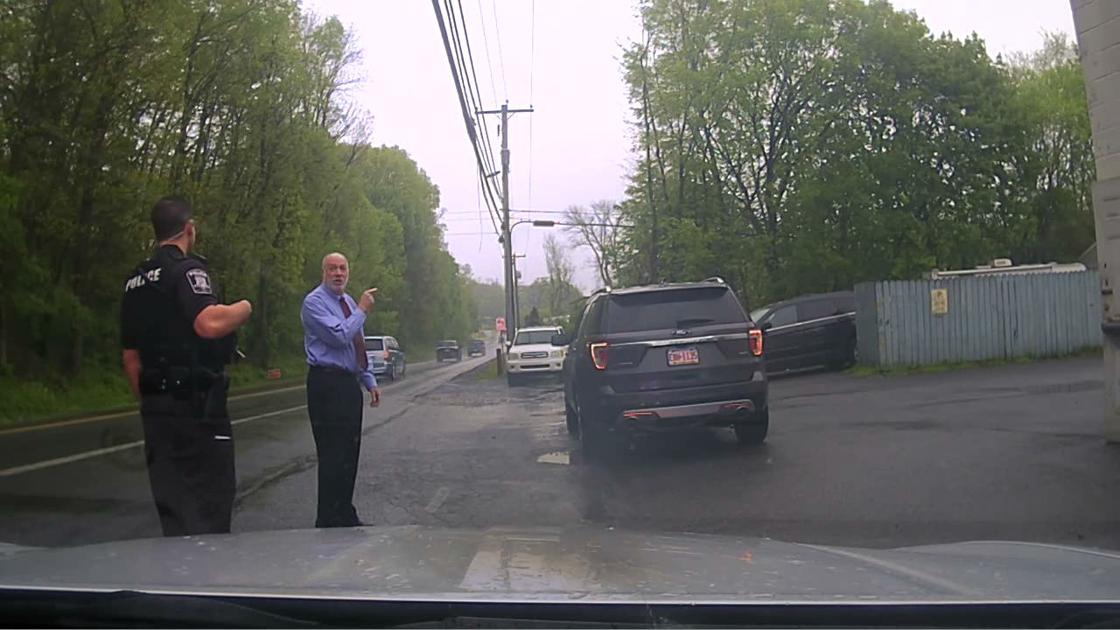 Lancaster County president judge at traffic stop: 'You better check