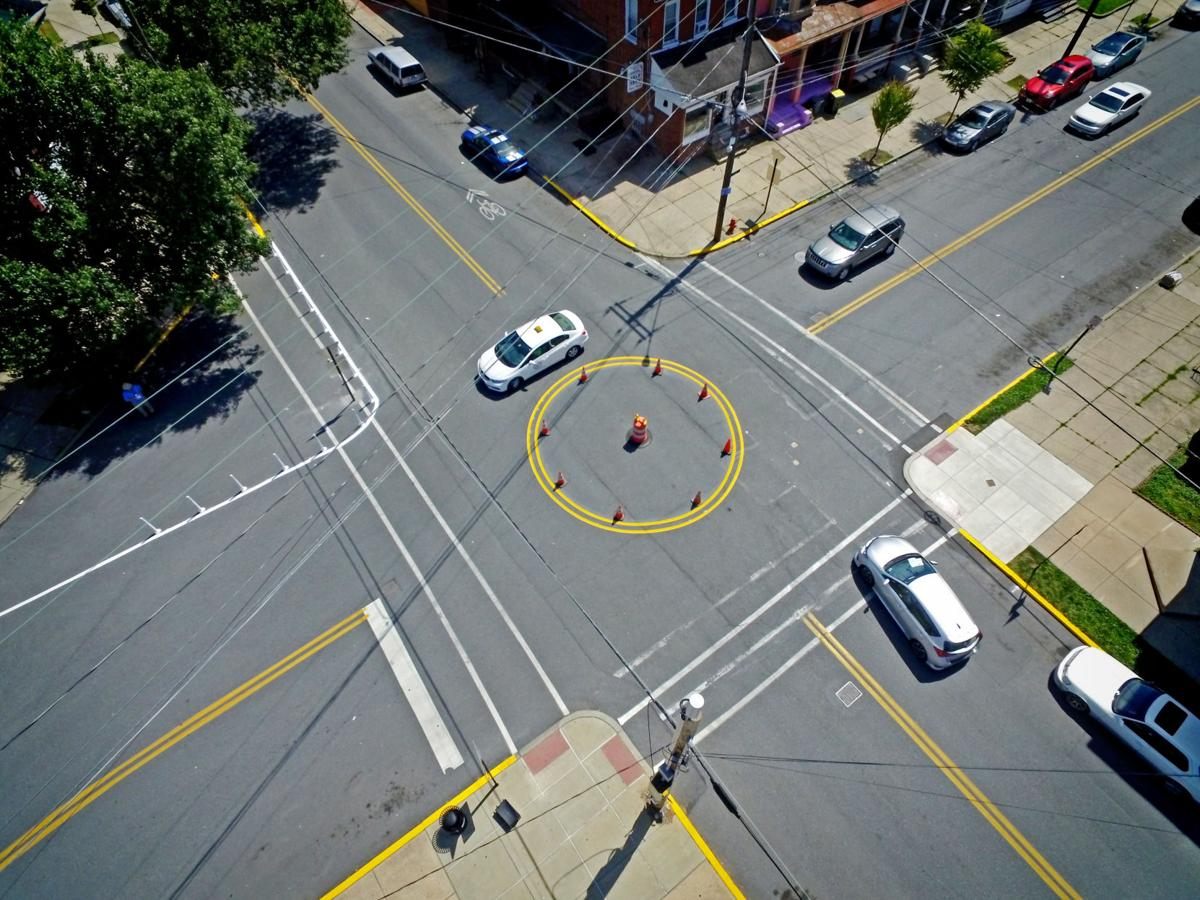 roundabout aerials