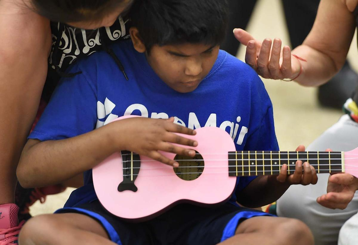 I did it!': Kids who are blind and visually impaired learn to play ...