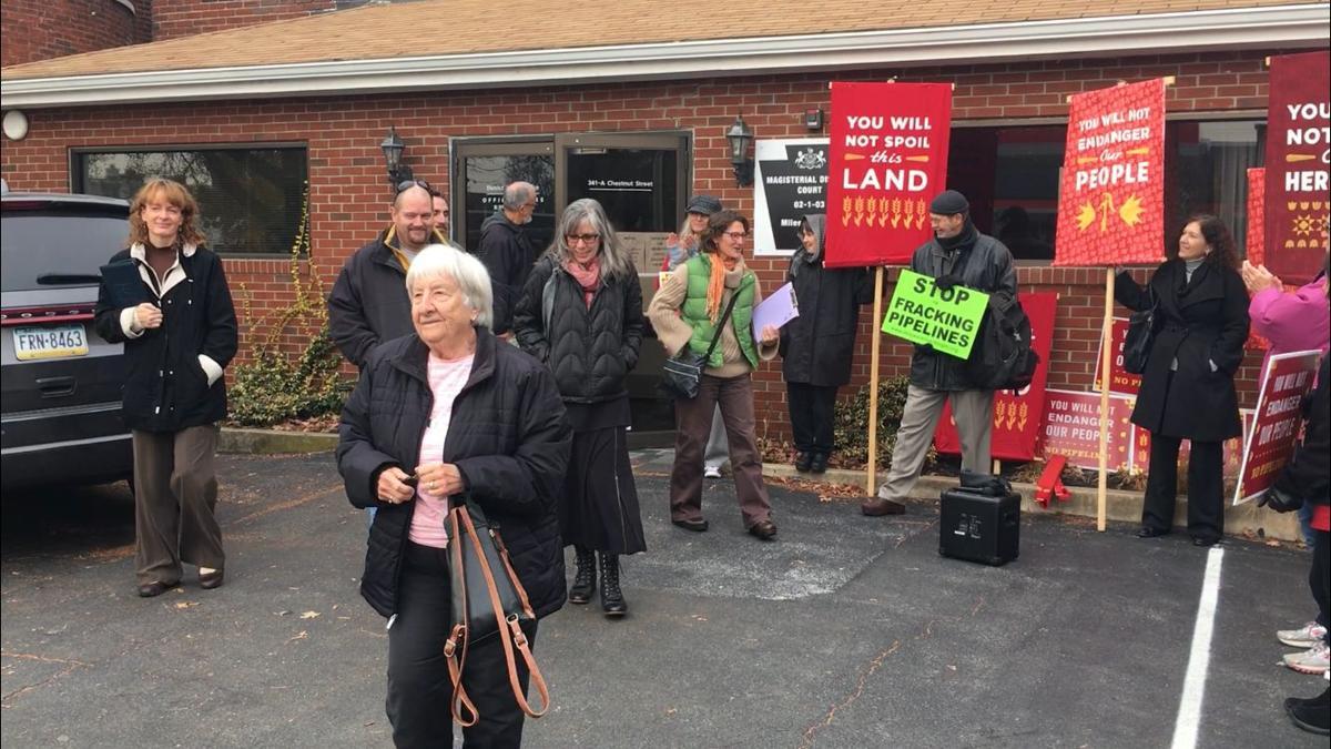 7 who pleaded guilty exit Bixler's office