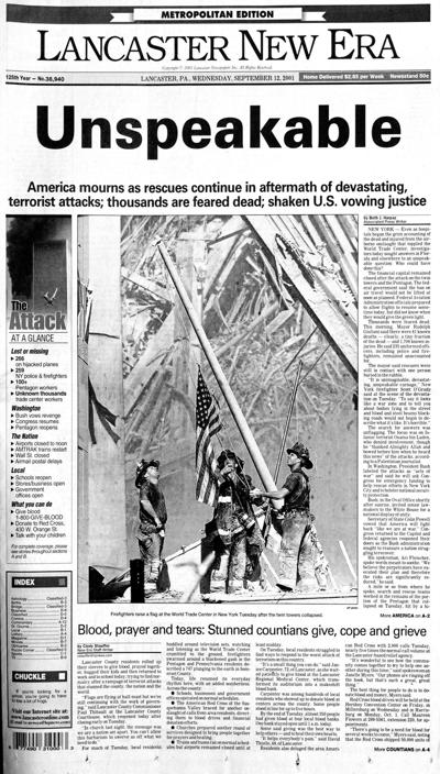 front page 2001