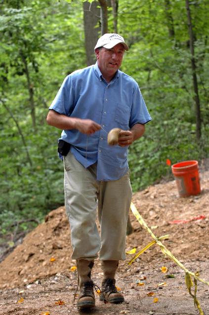 Bones of dead men tell tales at Duffy's Cut