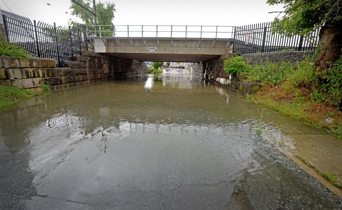 July 23 2018 North Plum Street Flooding