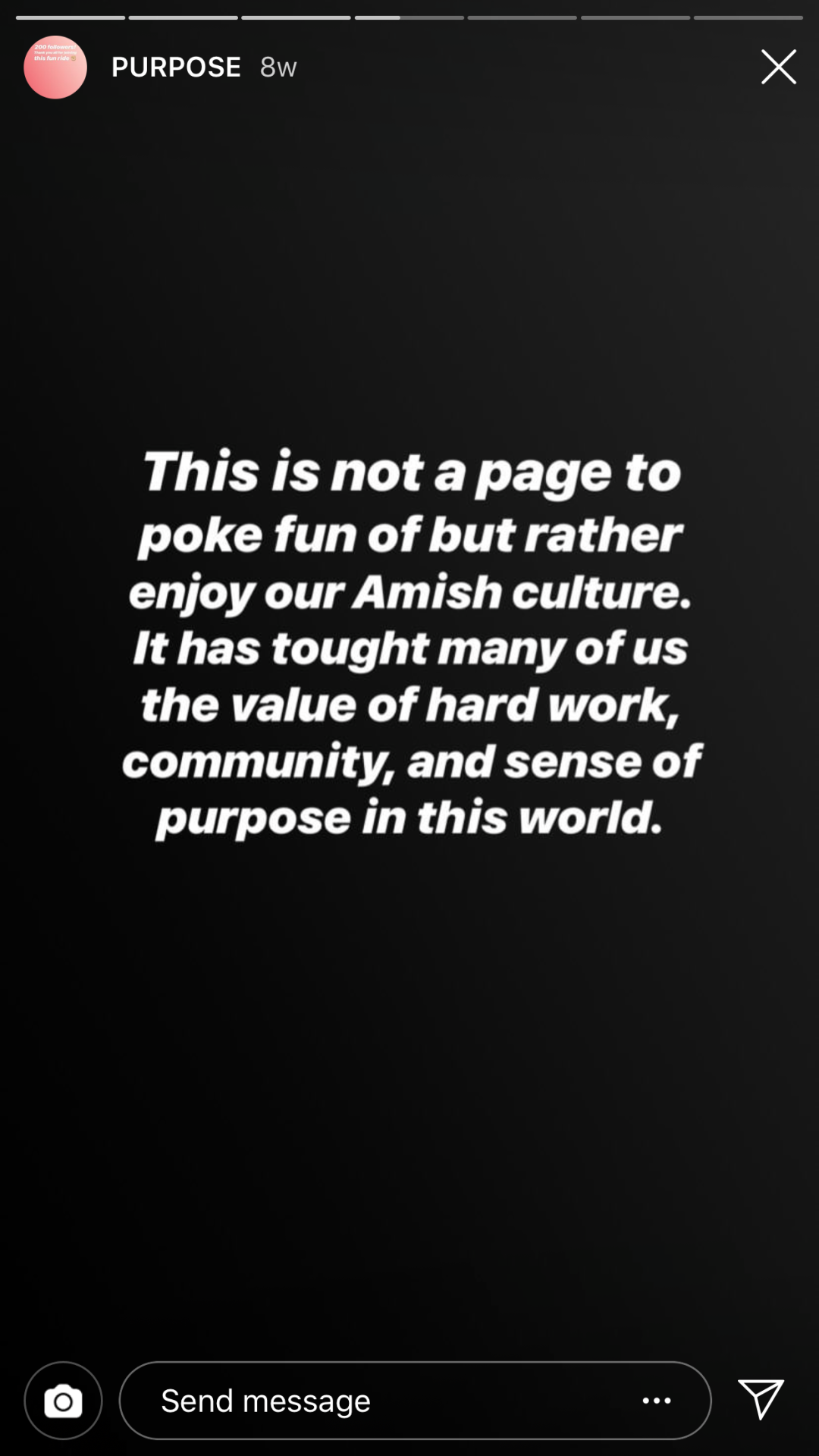 @Amish_Memes' story