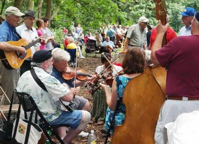 Lanchester Fiddlers' Picnic in West Sadsbury