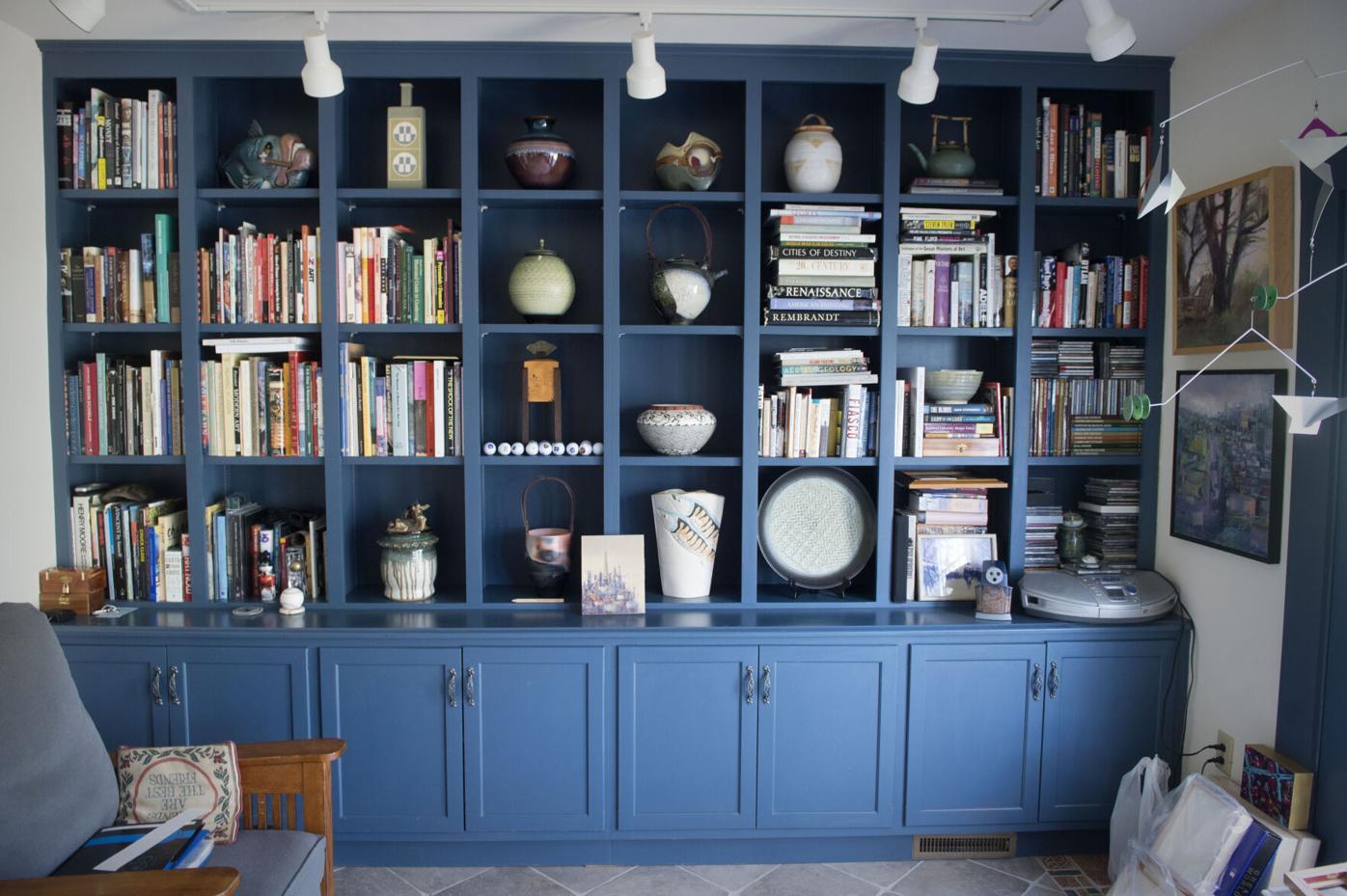 Janis Harrington book wall