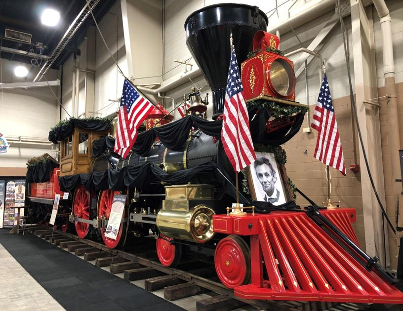 Lincoln Funeral Train re-staged at Elizabethtown's Stone Gables Estate