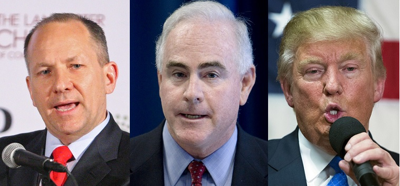 Lloyd Smucker, Patrick Meehan, Donald Trump