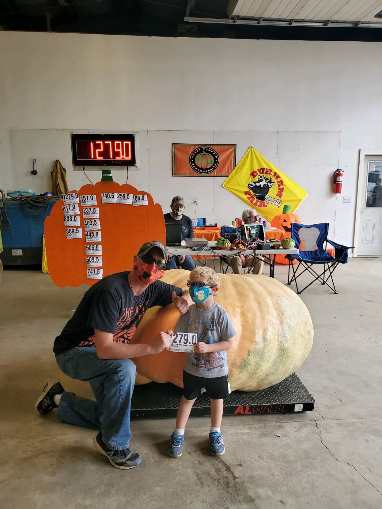 Big pumpkins Daddy Pumpkin