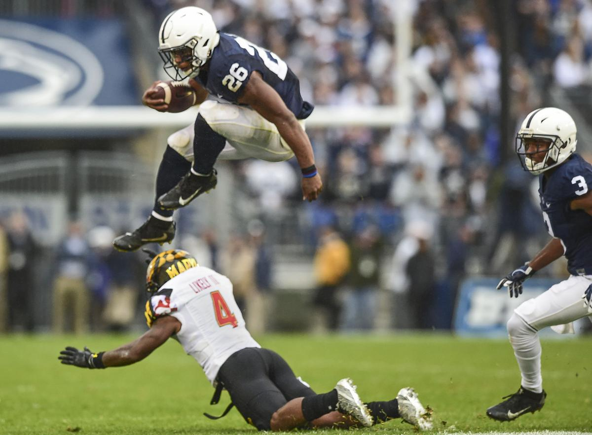 Photos Penn State Cruises Past Maryland 38 14 Local