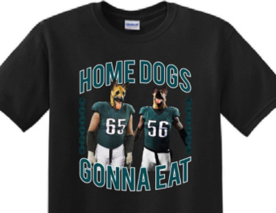 44cccba32e2 Underdog T-shirt. Proceeds from the sale of this T-shirt sold through Lane  Johnson's Twitter account and website are going to benefit Philadelphia  schools.