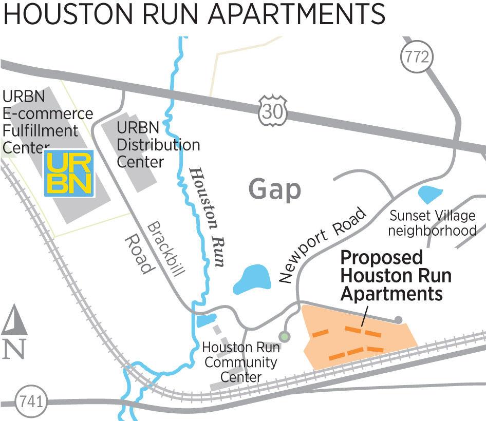 Houston Apartments Map: Salisbury Township Denies It Excludes Apartments, Points