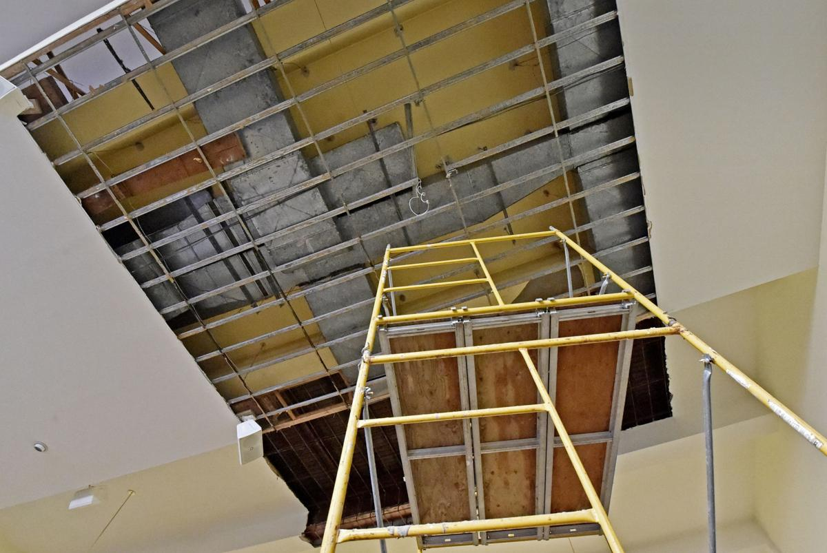 St. Anne Catholic Church relocates masses after roof damaged during ...