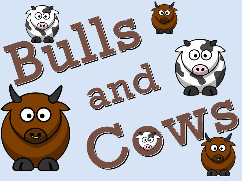 Bulls and Cows: Numbers