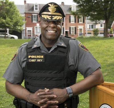 New Chief of Lancaster Police Bureau John T. Bey (SP)