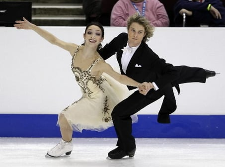 Davis and White Suddenly the Hottest American Ice Dancers