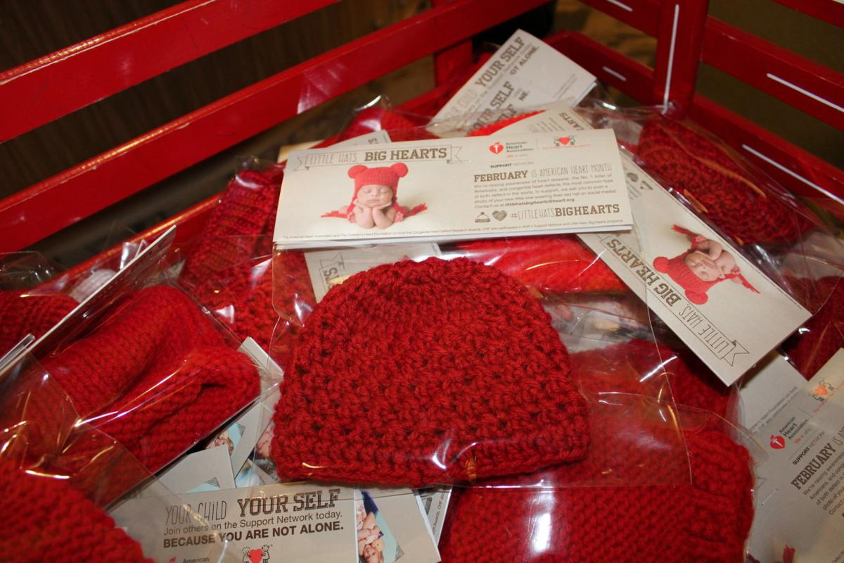 Heart Month Campaign Nets 750 Hand Knitted Hats For