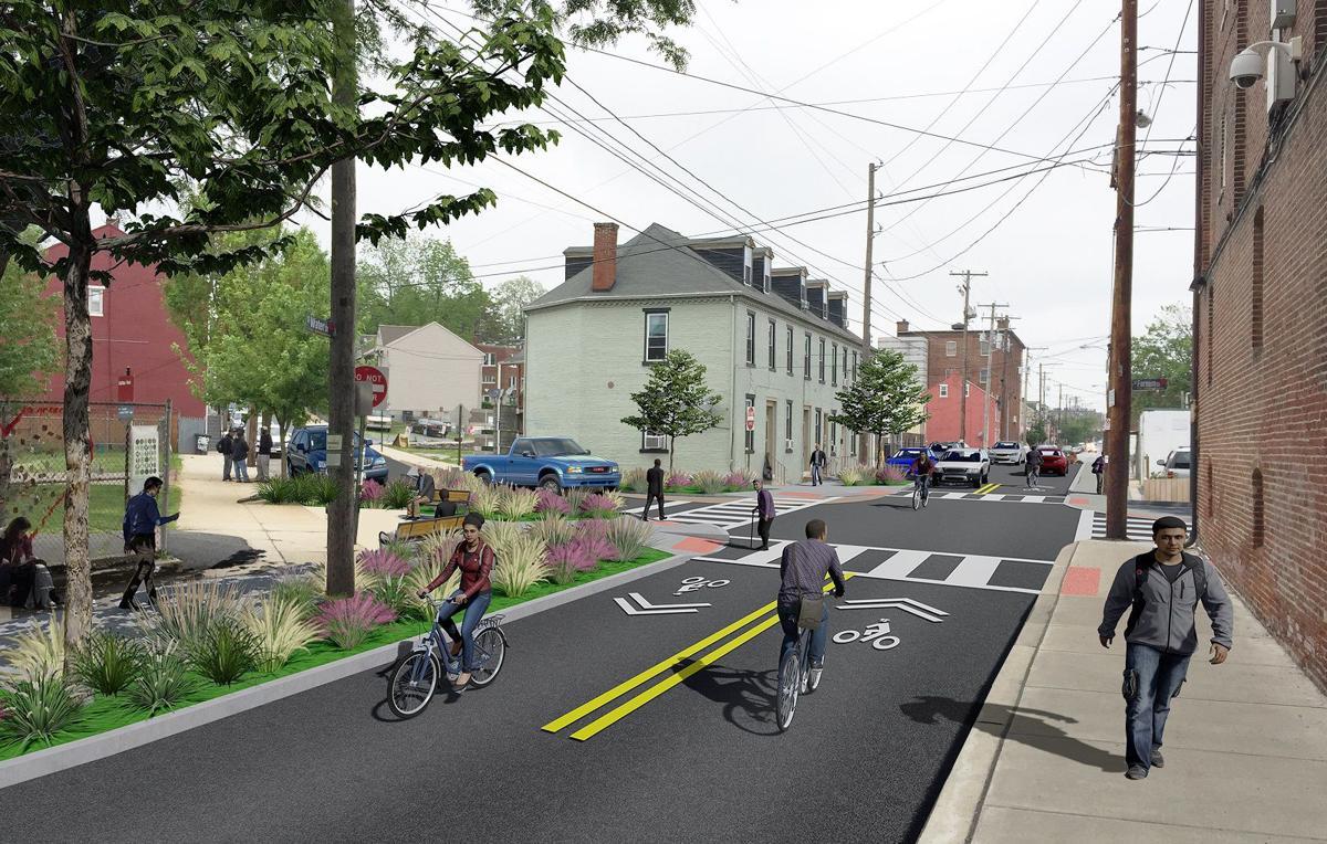 Water Street bicycle boulevard