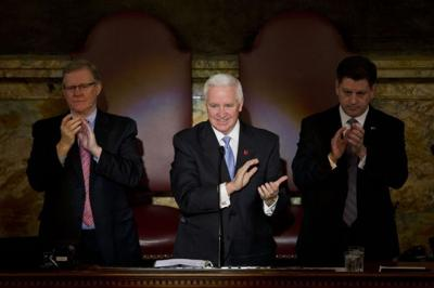 Gov. Corbett gives February 2014 budget address