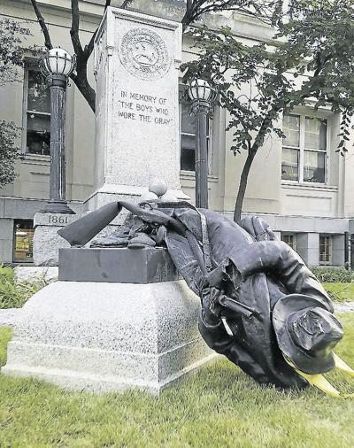 Confederate Monument Protest North Carolina