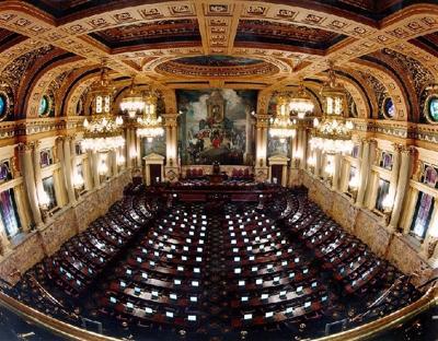 Can't make it to Harrisburg? Watch your new legislators being sworn in here
