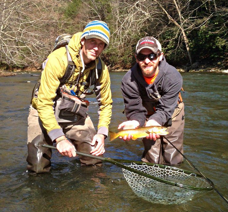 A lesson on trout with fly fishing guru george daniel for George daniel fly fishing