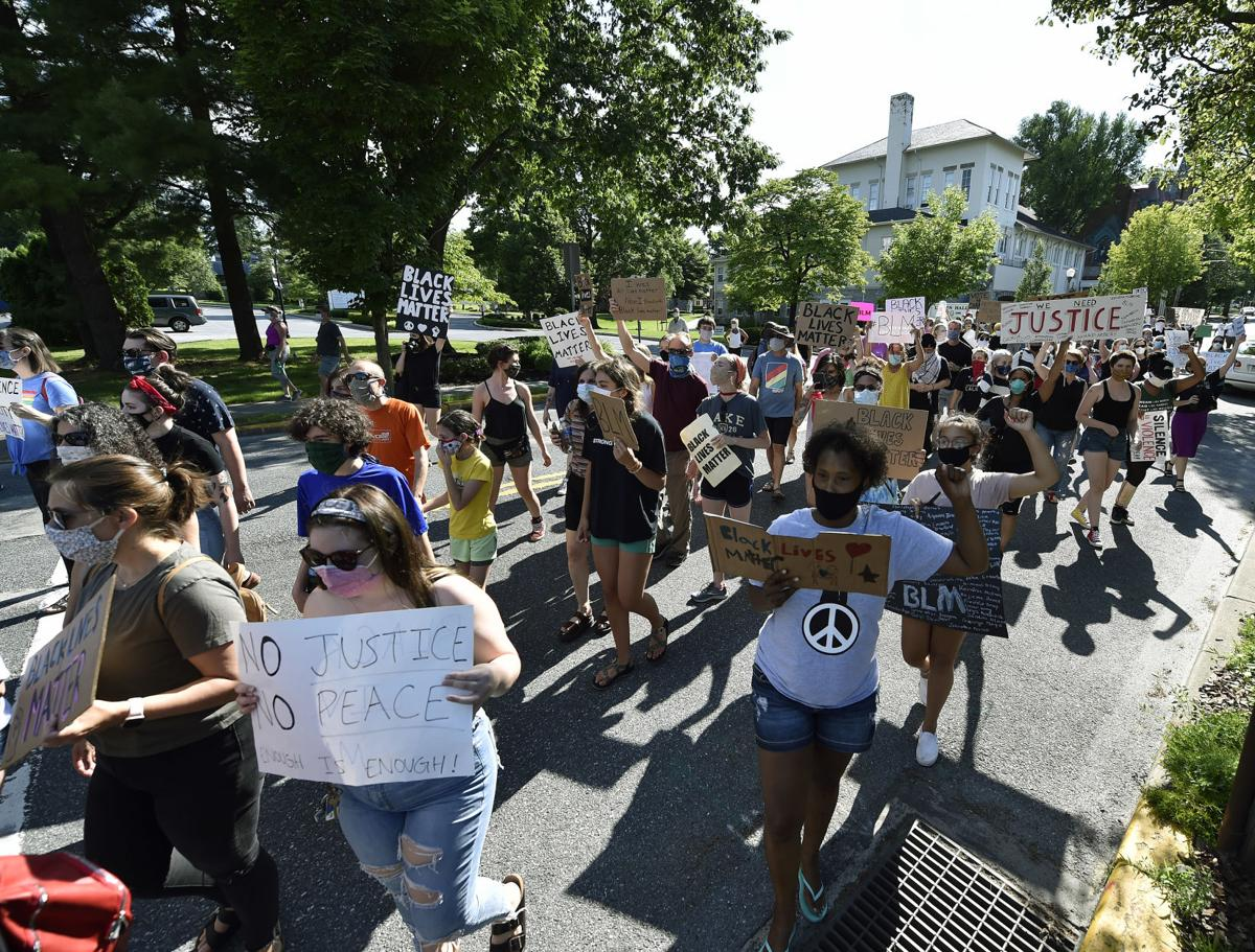 Black Lives Matter Protest-Lititz
