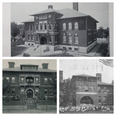 Urban school collage