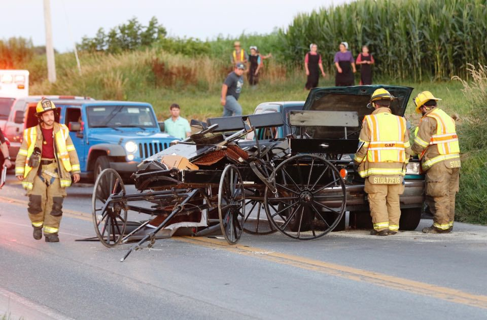 How To Find Out About Recent Car Accidents >> Horse And Buggy Crashes How Many Lancaster County Has And