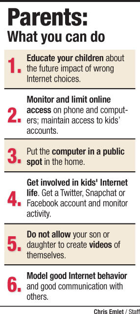 Experts say parents need to be online, too