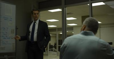 Jonathan Groff in Mindhunter season 2