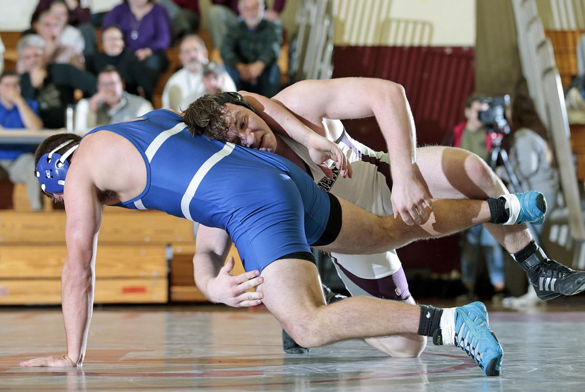 Manheim Central vs Elizabethtown LL Sect 2 Wrestling