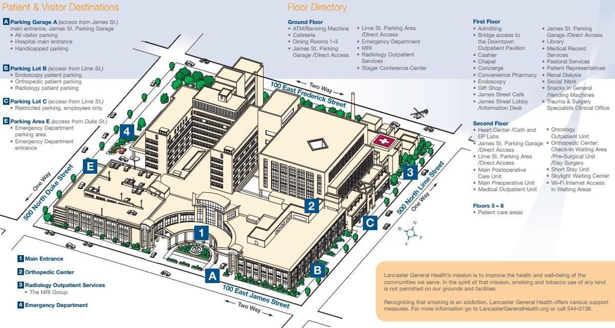 Lancaster General Hospital Layout Lancasteronline Com