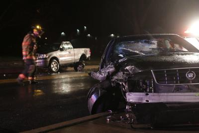 Injury reported in two-car collision in Columbia