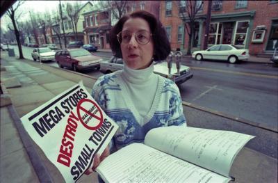 Walmart protest Lititz 1995