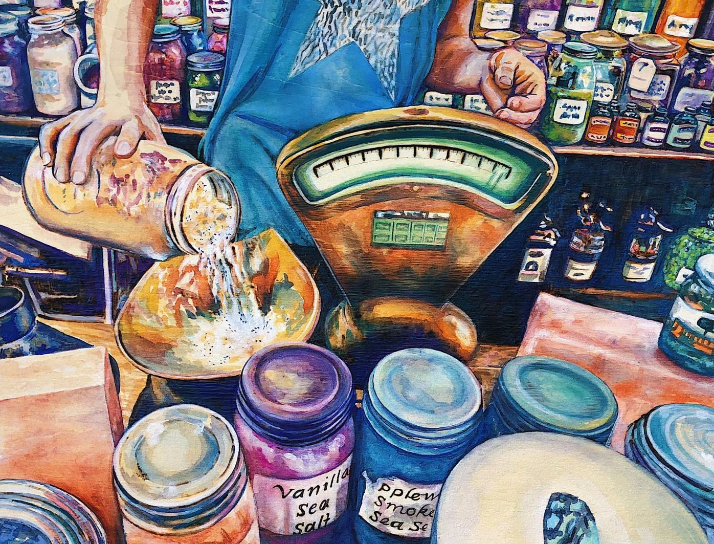 a4 Jenny Germann  Lancaster - The Herb Shop.JPG