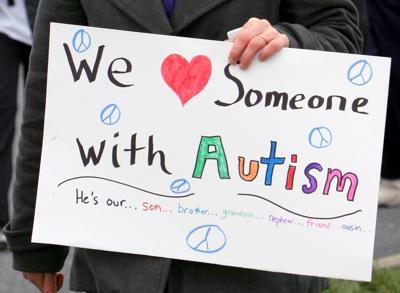 Autism Walk sign