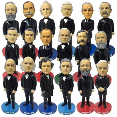 Neglected Presidents Bobbleheads