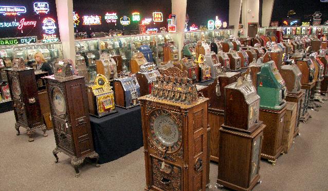Bob levy slot machines auction casino white noise