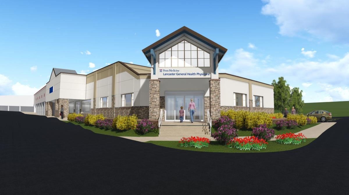 Exterior: Lancaster General Health Will Open New Outpatient Center