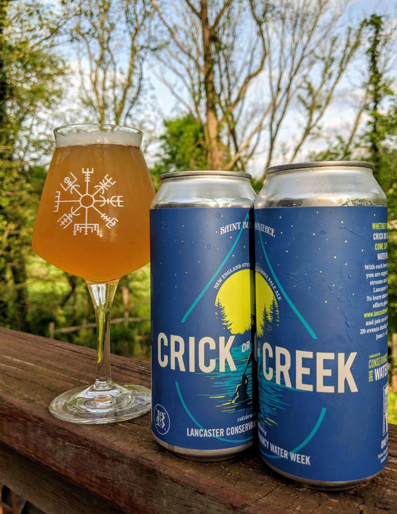 St. Boniface Craft Brewing Co. Crick or Creek