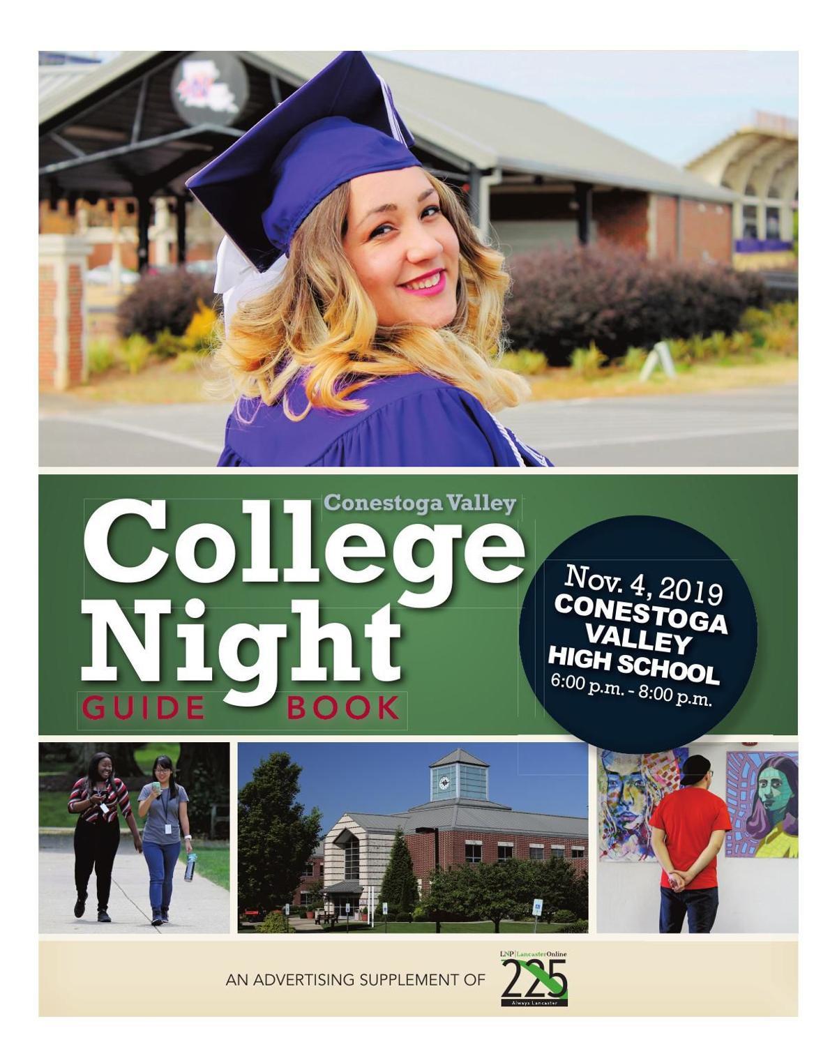 Conestoga Valley College Night Guide Book 2019